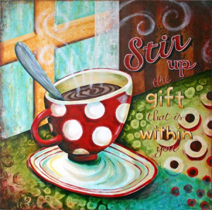 stir up gift within you